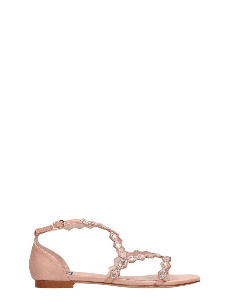 Bibi Lou Rosa Suede Sandals - rose-pink