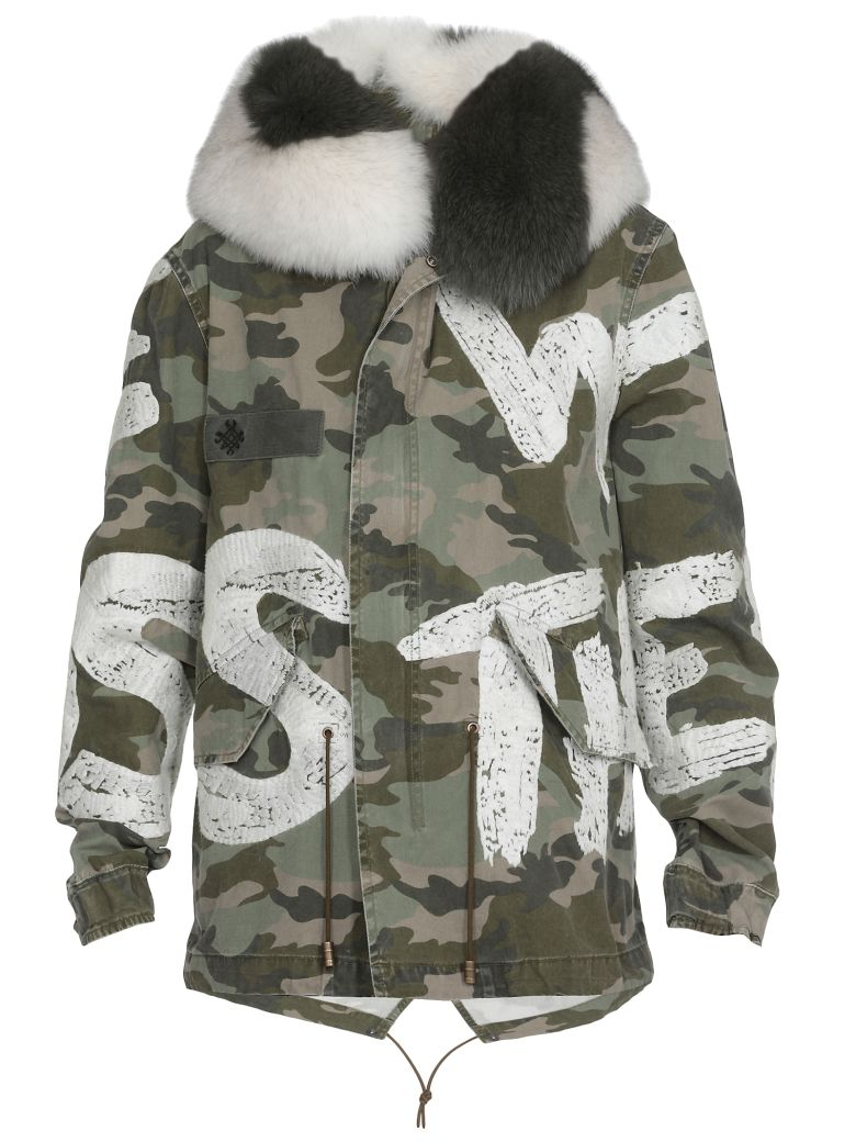 Mr & Mrs Italy Parka With Fur - Basic