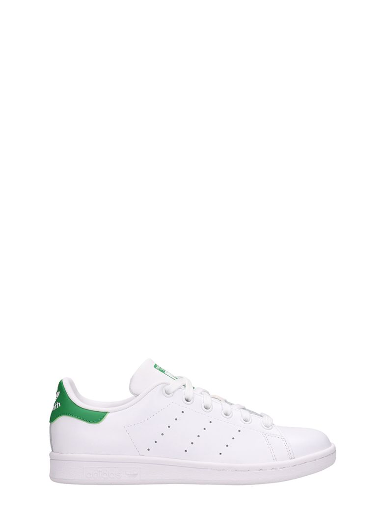 Adidas Stan Smith White Leather Sneakers - white