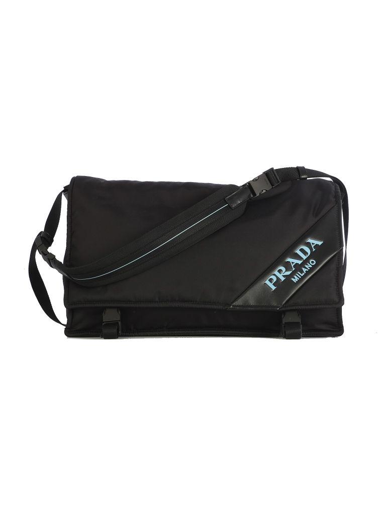 d859911f7c Prada Prada Logo Shoulder Bag - Black - 10712707