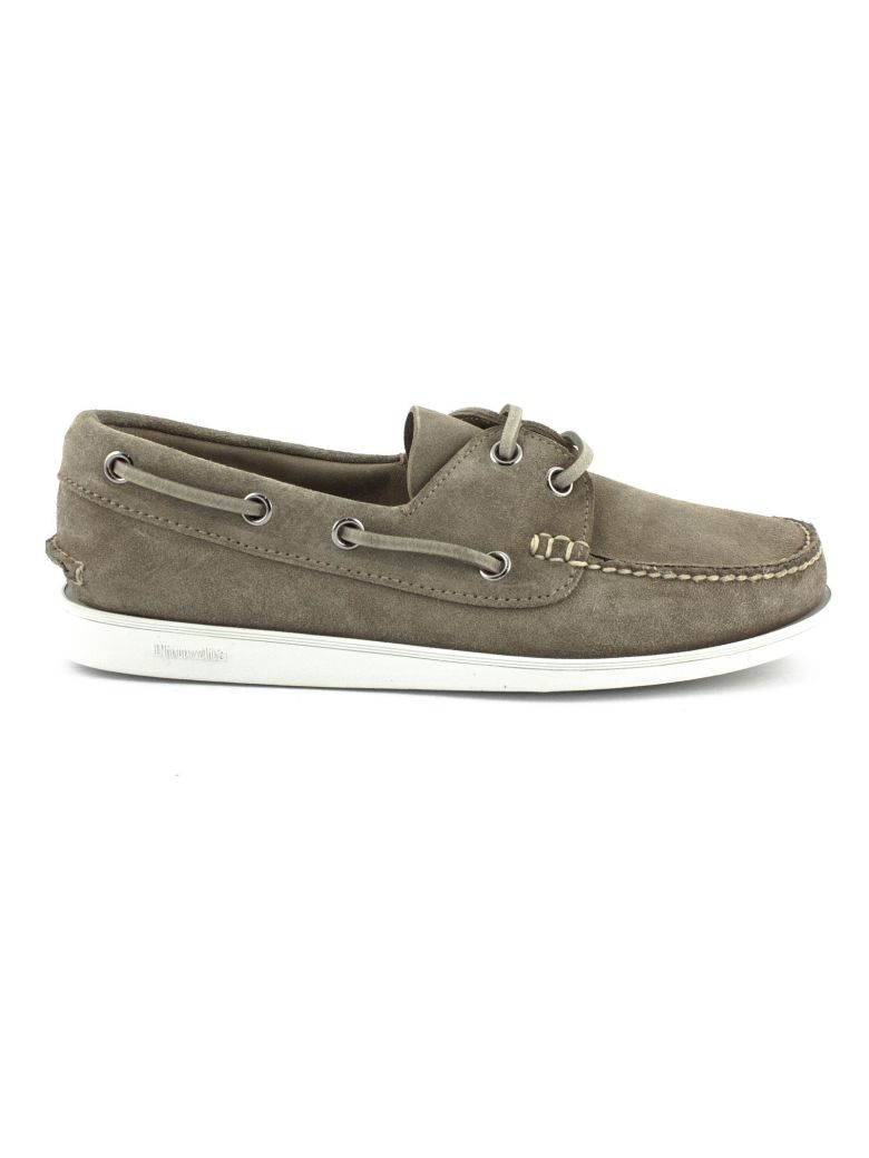 Church's Marske Suede Boat Shoe Stone - Stone