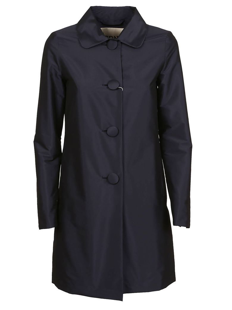 Herno Single Breasted Tailored Coat - Blu