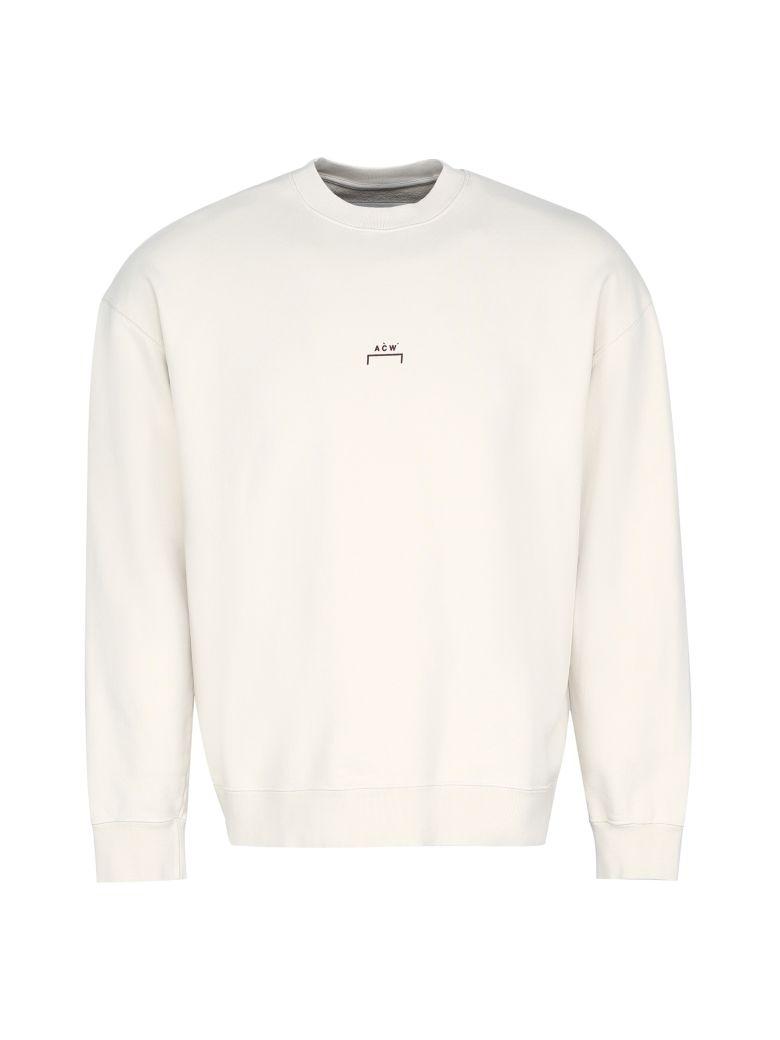 A-COLD-WALL Cotton Crew-neck Sweatshirt - Beige