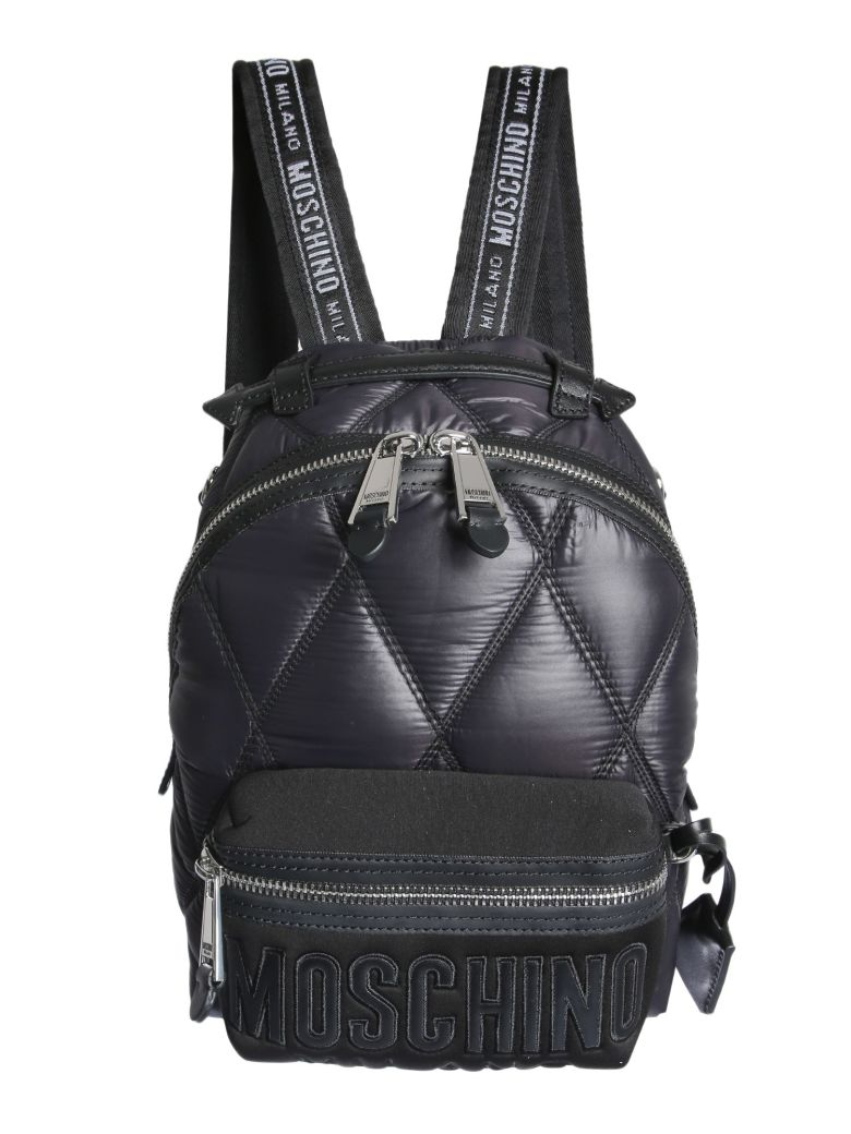 Moschino Quilted Backpack - NERO
