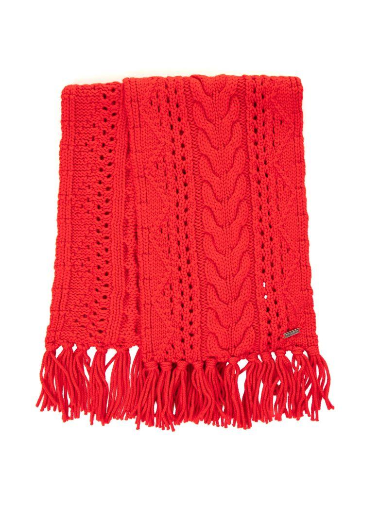 Woolrich Woolrich Wool Scarf - RED