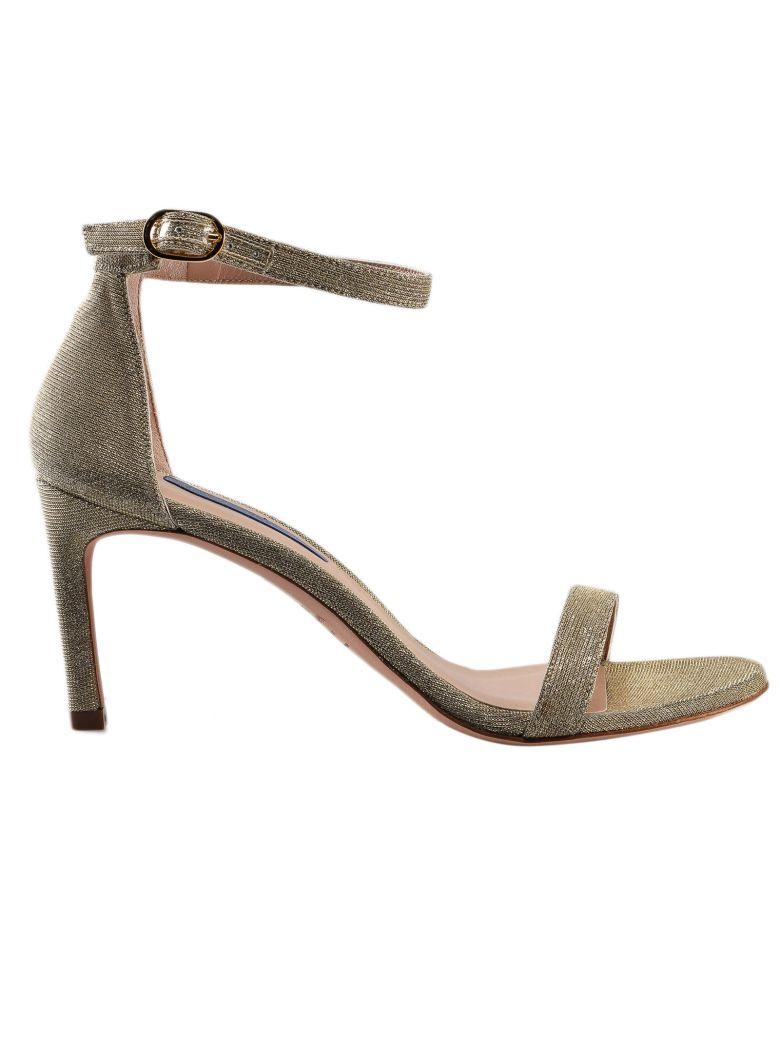 Stuart Weitzman Nunakedstraight Sandals - Platino