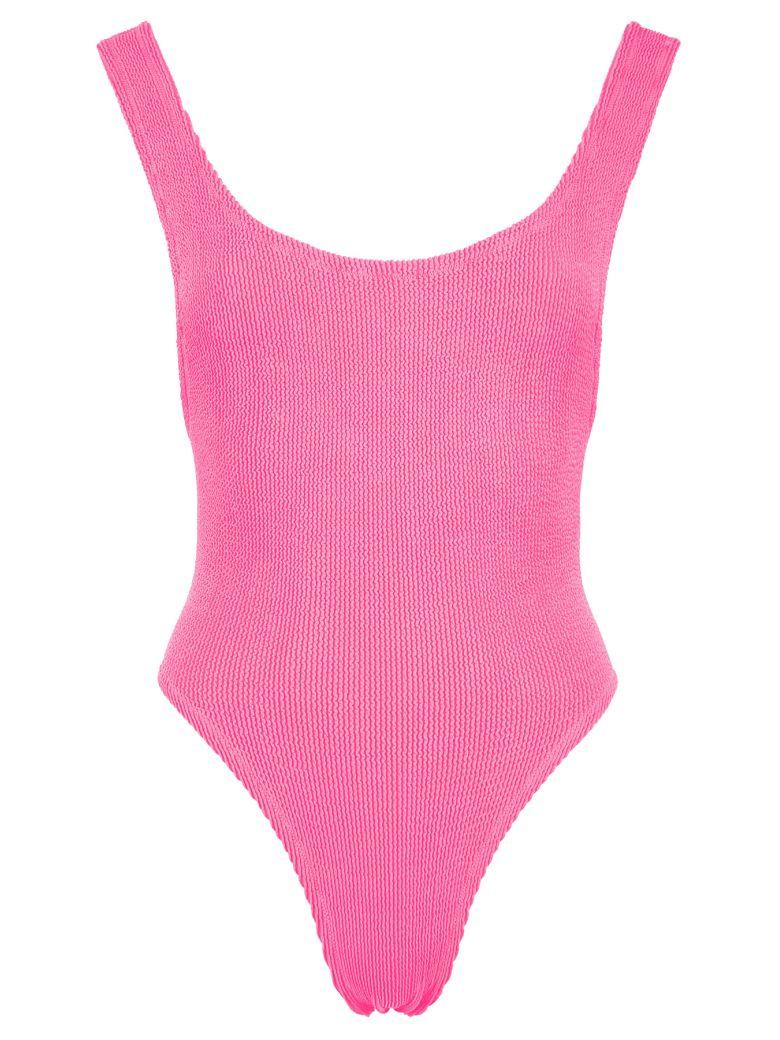 Reina Olga Ruby Scrunch Swimsuit - HOT PINK (Fuchsia)