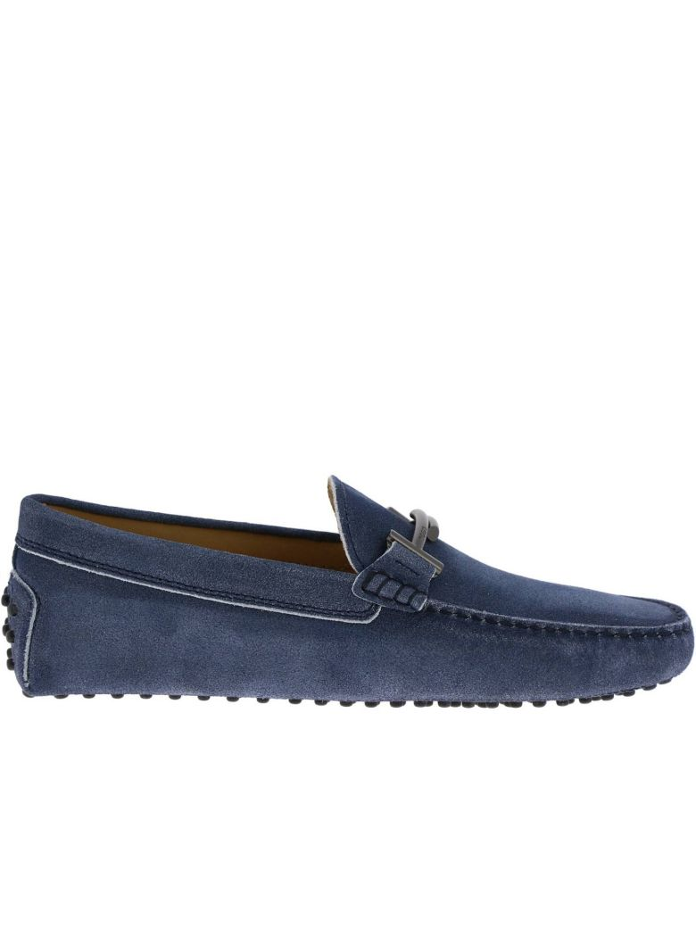 Tod's Loafers Shoes Men Tod's - gnawed blue