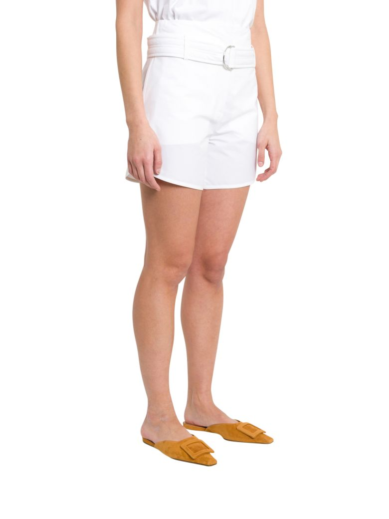 Cedric Charlier Belted Shorts - Bianco