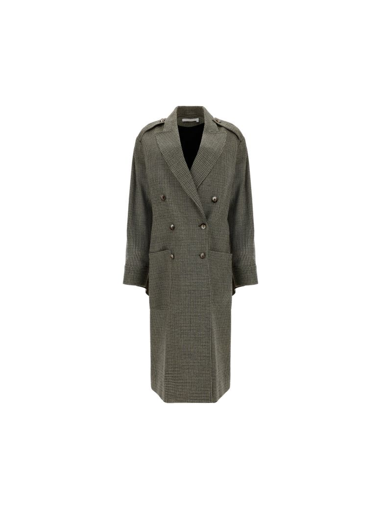 Chloé Coat - Beige/green