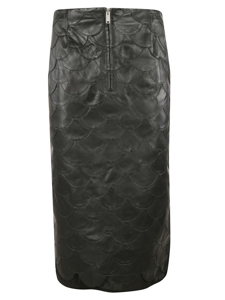Golden Goose Fishscale Pencil Skirt - Black