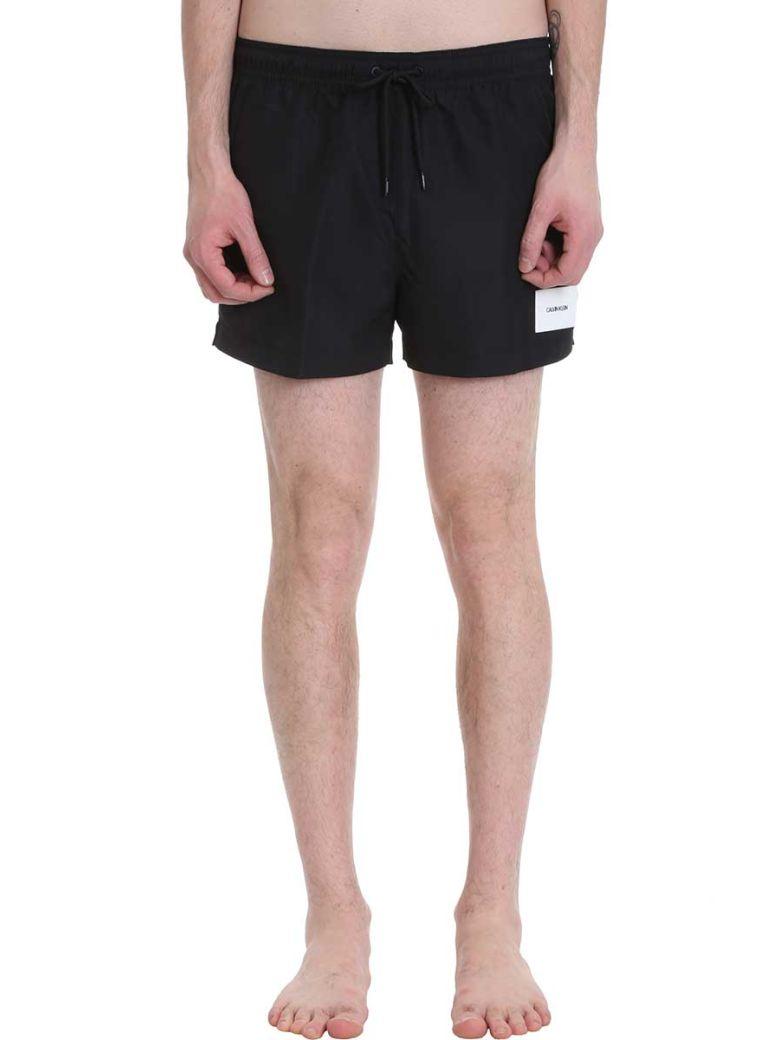 Calvin Klein Jeans Black Nylon Swimwear - black