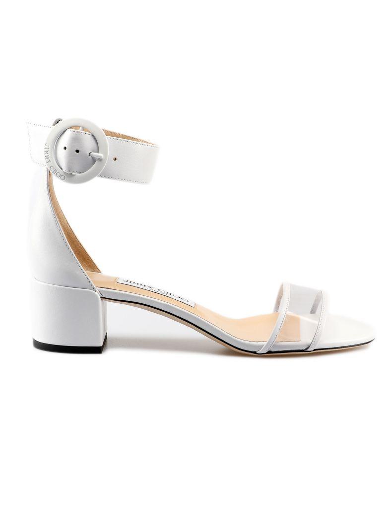 Jimmy Choo Jaimie Sandals - White/clear