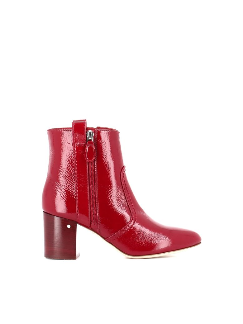 "Laurence Dacade Ankle Boot ""silane"" - Red"