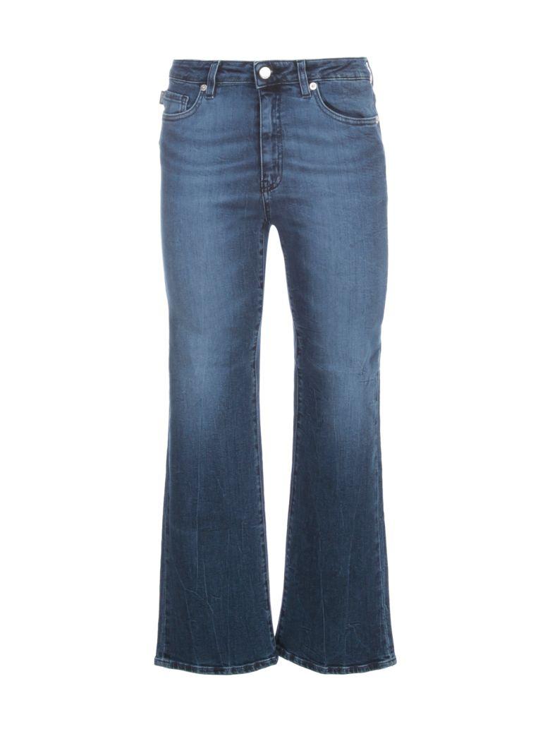 Love Moschino Short Flared Jeans - W Denim