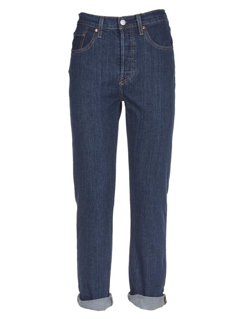 Levi's Cropped Jeans - Blue