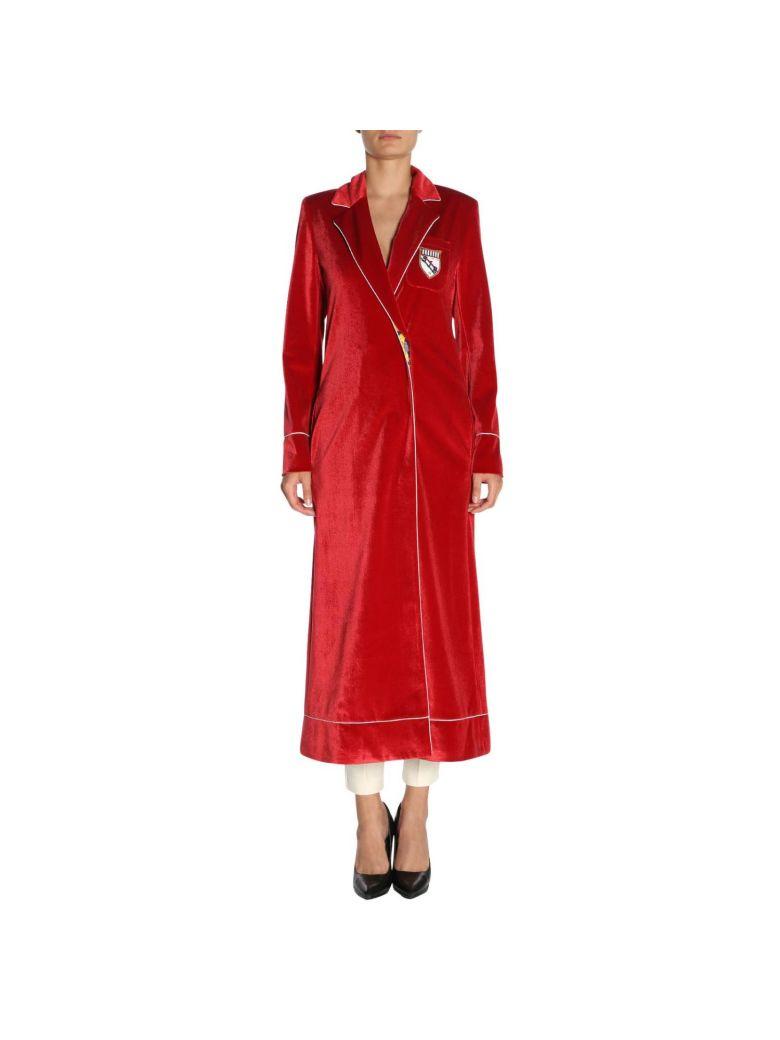 Stella Jean Coat Coat Women Stella Jean - red