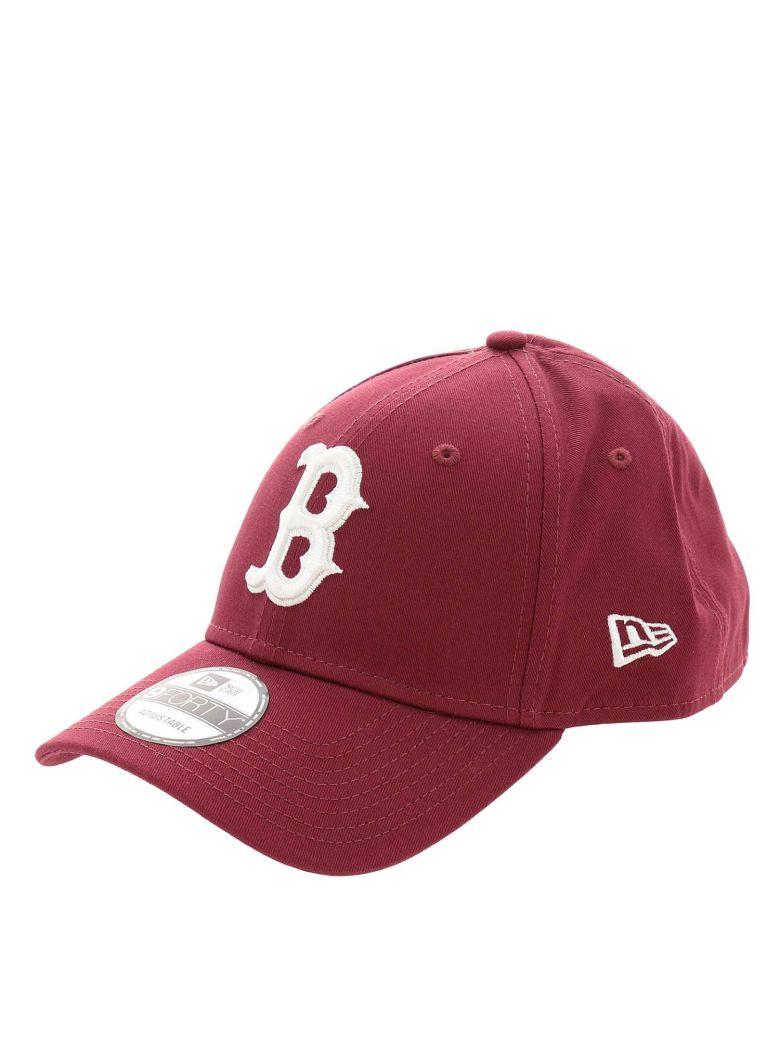 New Era Hat Hat Men New Era - burgundy