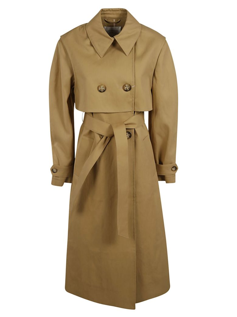 Les Coyotes De Paris Double-breasted Trench Coat - Brown