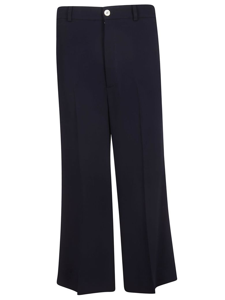 Gucci Cropped Trousers - Blue