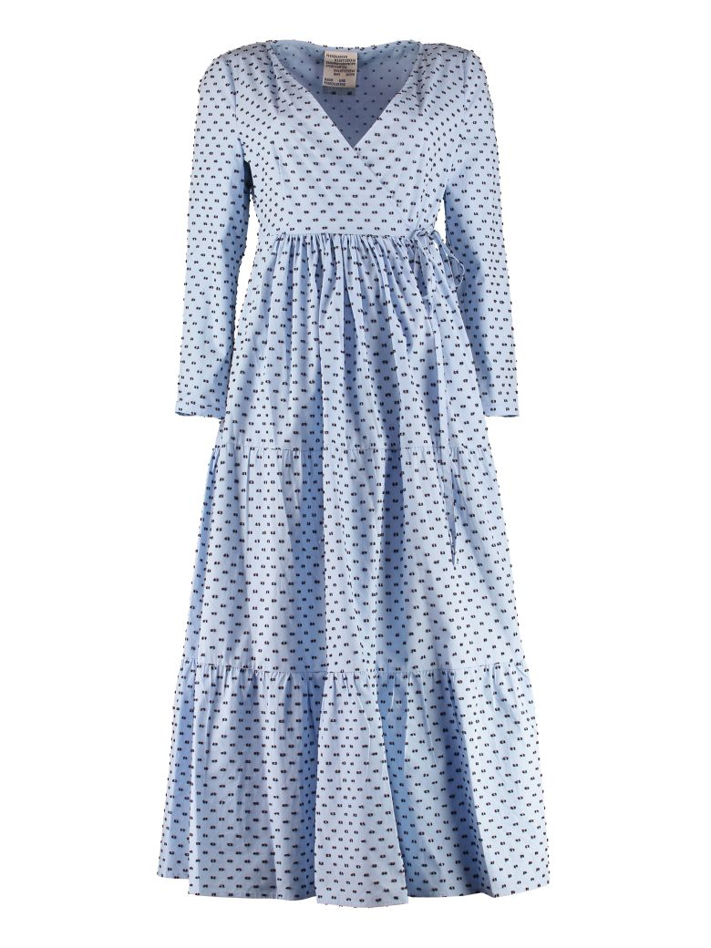 Baum und Pferdgarten Aymeline Cotton Shirt Dress - Blue