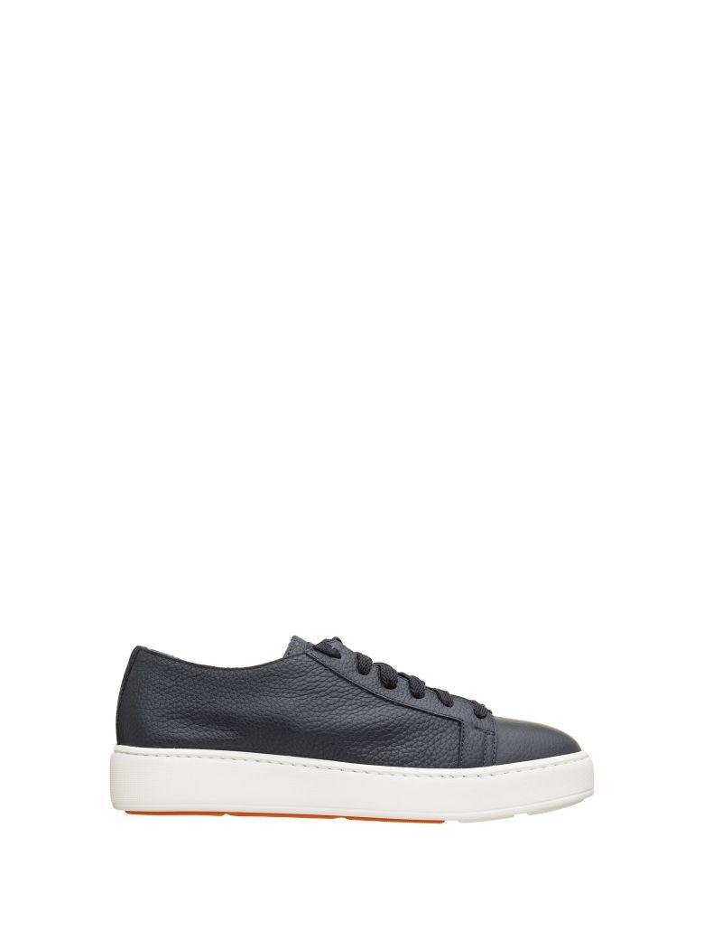 Santoni Santoni Blue Sneakers - Blu