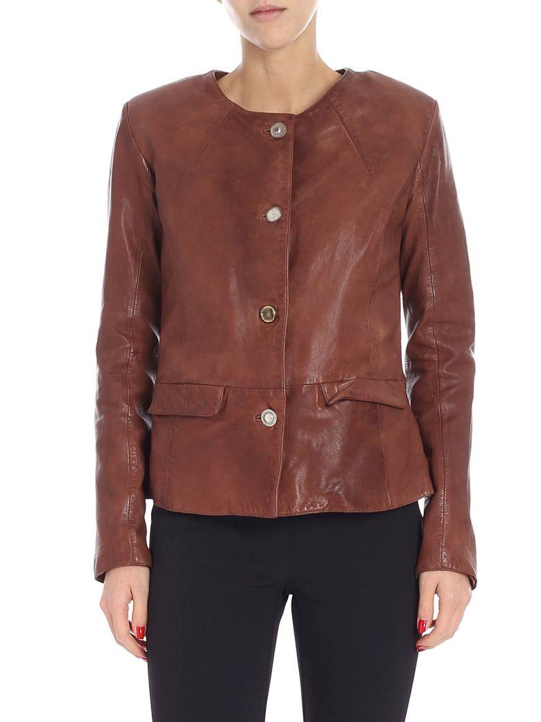 S.W.O.R.D 6.6.44 S.w.o.r.d. - Leather Jacket - Luggage