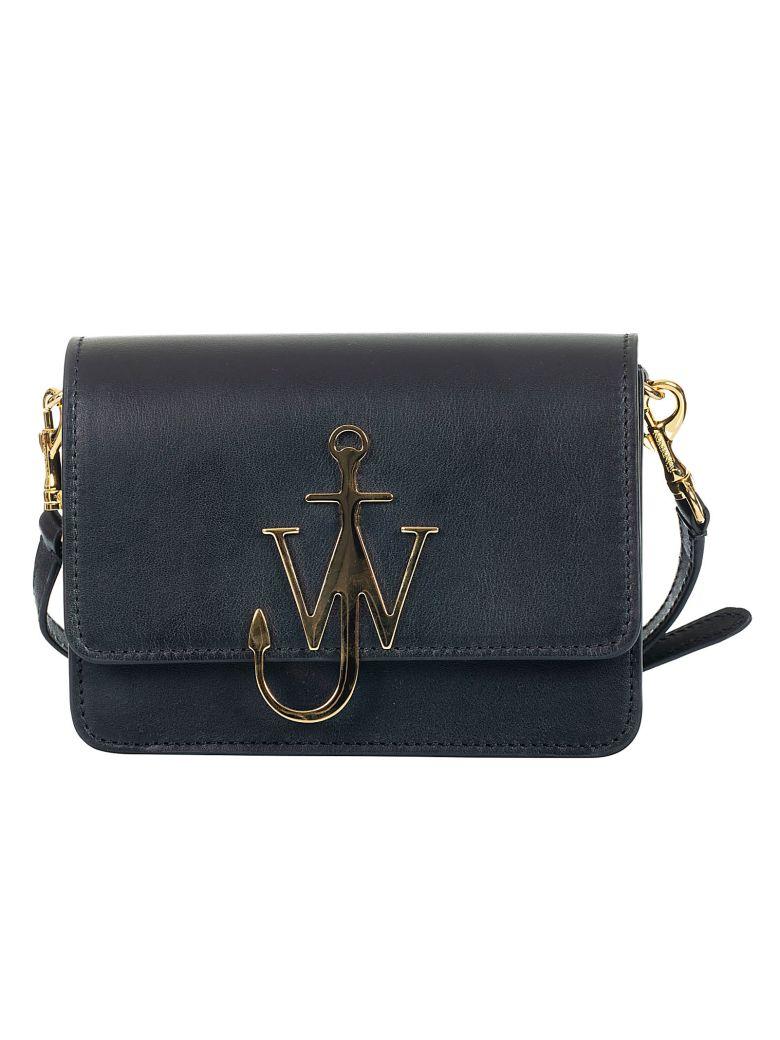 J.W. Anderson Jw Anderson Mini Logo Shoulder Bag - Black
