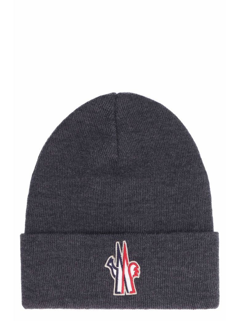 Moncler Grenoble Hats KNITTED VIRGIN WOOL HAT