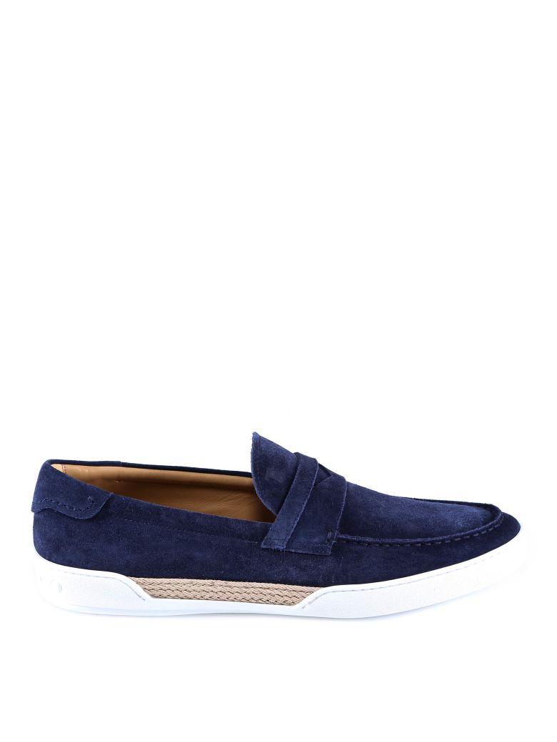 Tod's Mocassino Gomma Leggera Loafer - Blue