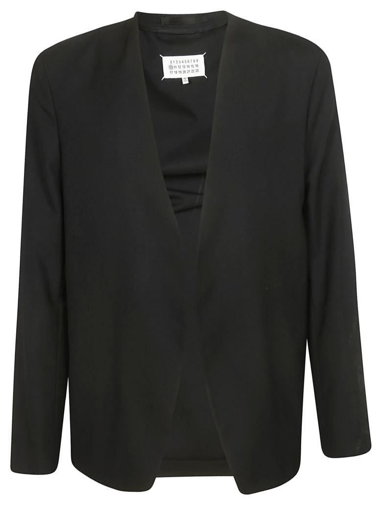 Maison Margiela Unlined Collarless Blazer - Black