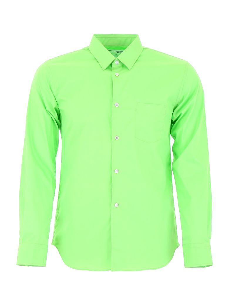 Comme des Garçons Shirt Boy Shirt With Logo On The Back - GREEN (Green)