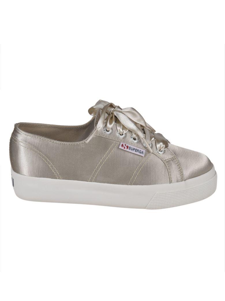 Superga Classic Platform Sneakers - Beige