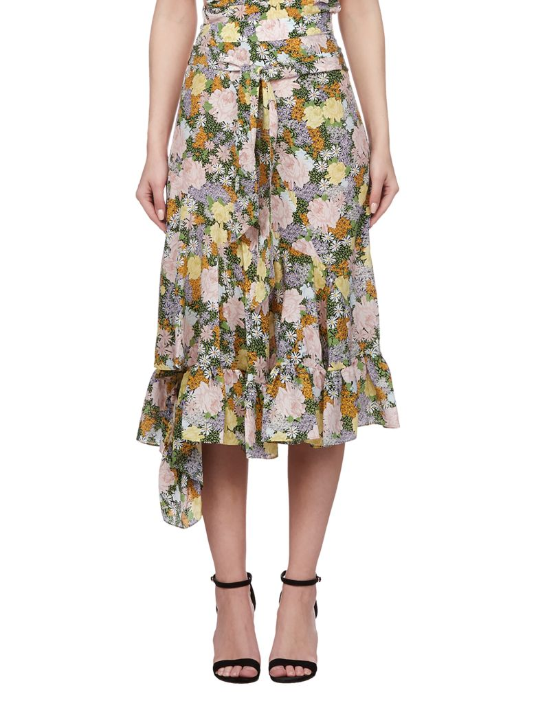 Rokh Floral Skirt - Multicolor