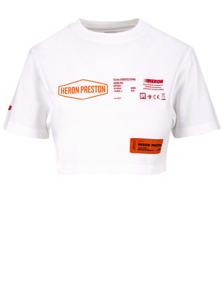 HERON PRESTON T-shirt - White