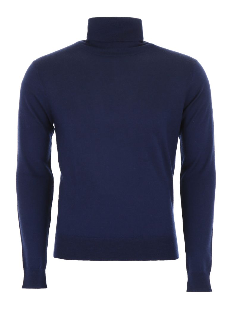 CC Collection Corneliani Cashmere Pullover - NAVY (Blue)