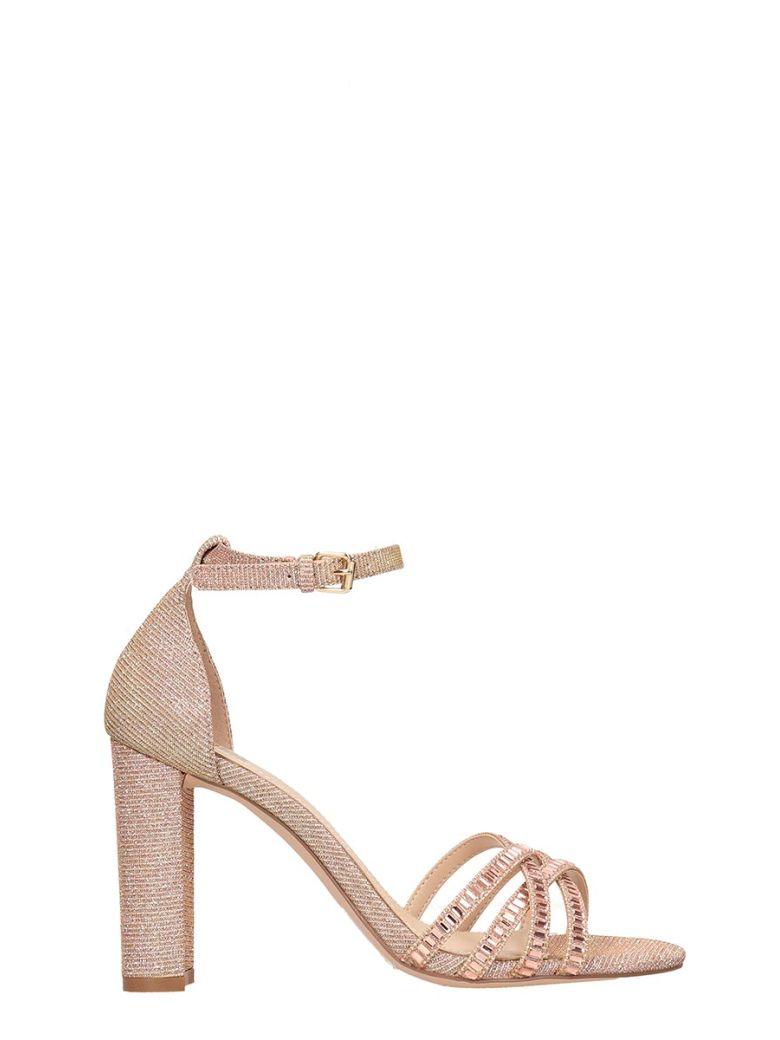Bibi Lou Copper Fabric Sandals - copper
