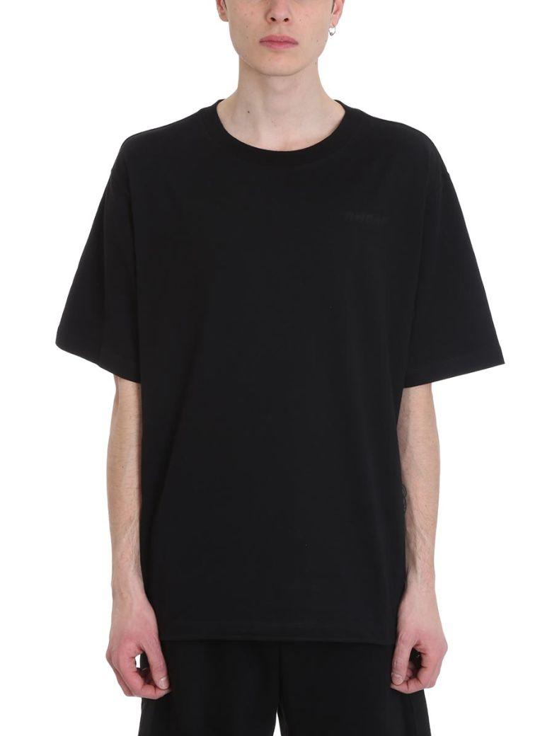 Ben Taverniti Unravel Project Black Cotton T-shirt - black