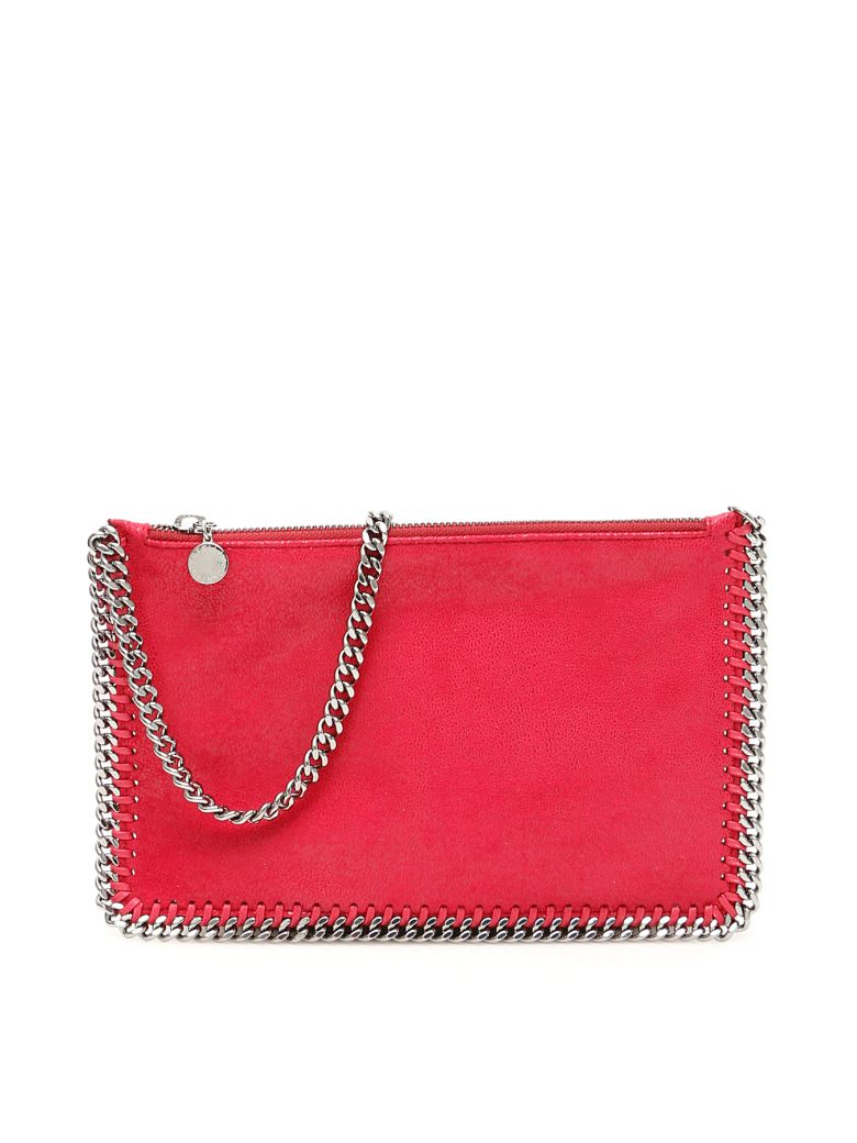 Stella McCartney Falabella Clutch - PINK GLAMOUR (Red)
