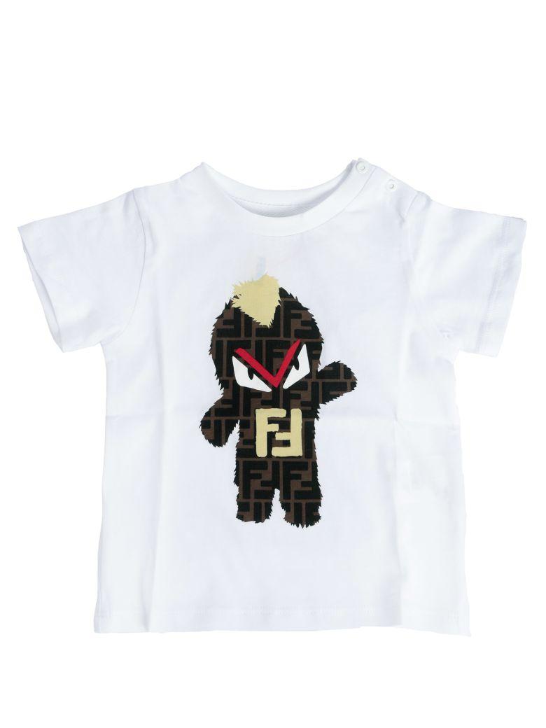Fendi Kids Double F Logo T-shirt