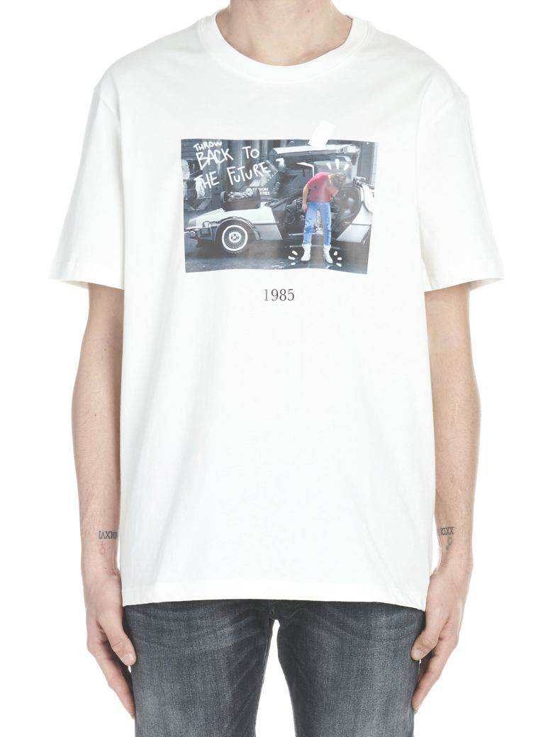 Throw Back 'back To The Future' T-shirt - White