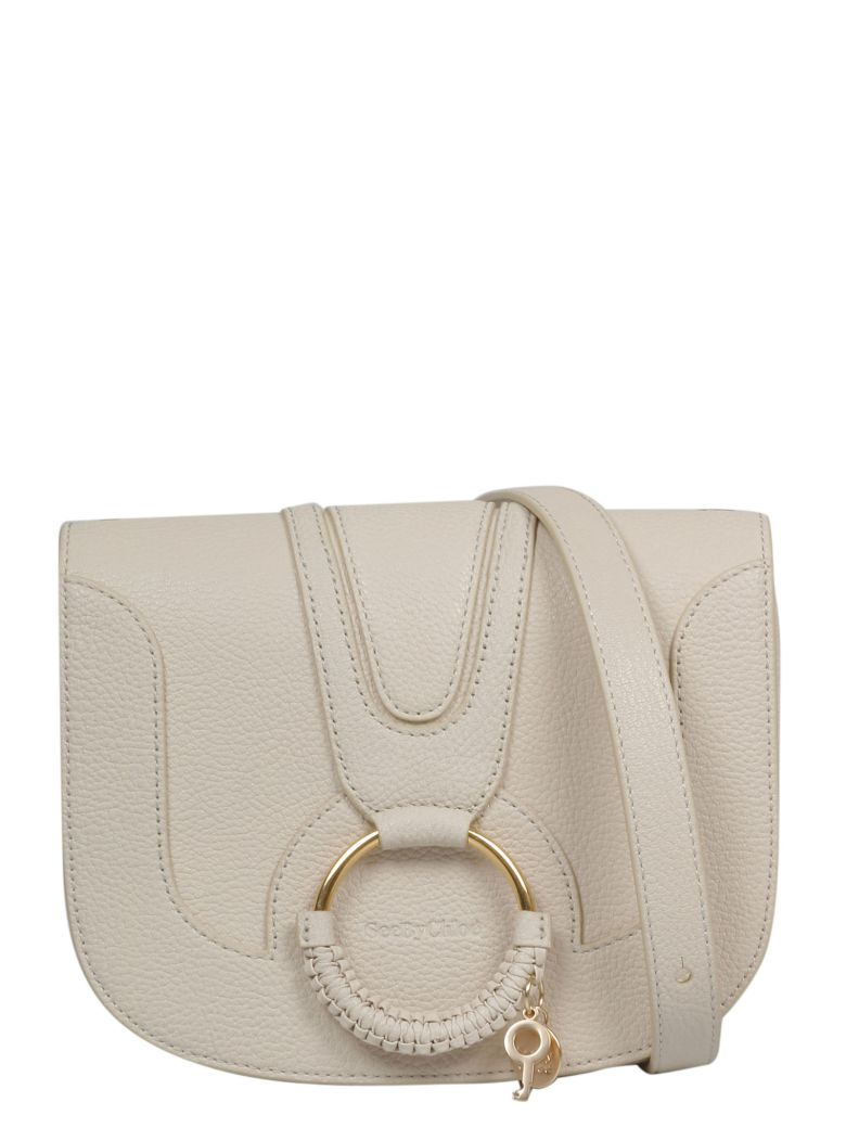See by Chloé Medium Hana Shoulder Bag - Cement Beige 24h