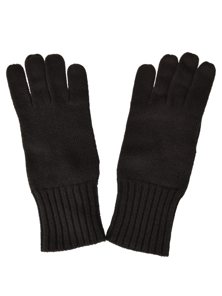 Fedeli Knitted Gloves - Brown
