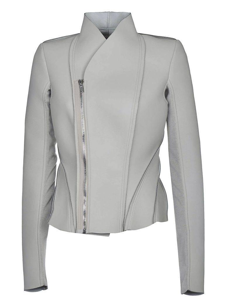 Rick Owens Lilies Paneled Jacket - Pearl