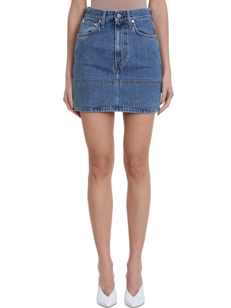 Helmut Lang Femme Utility Skirt - Blue