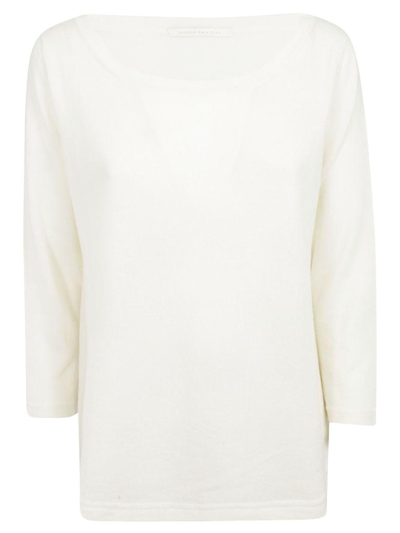 Saverio Palatella Round Neck Sweater - Ivory