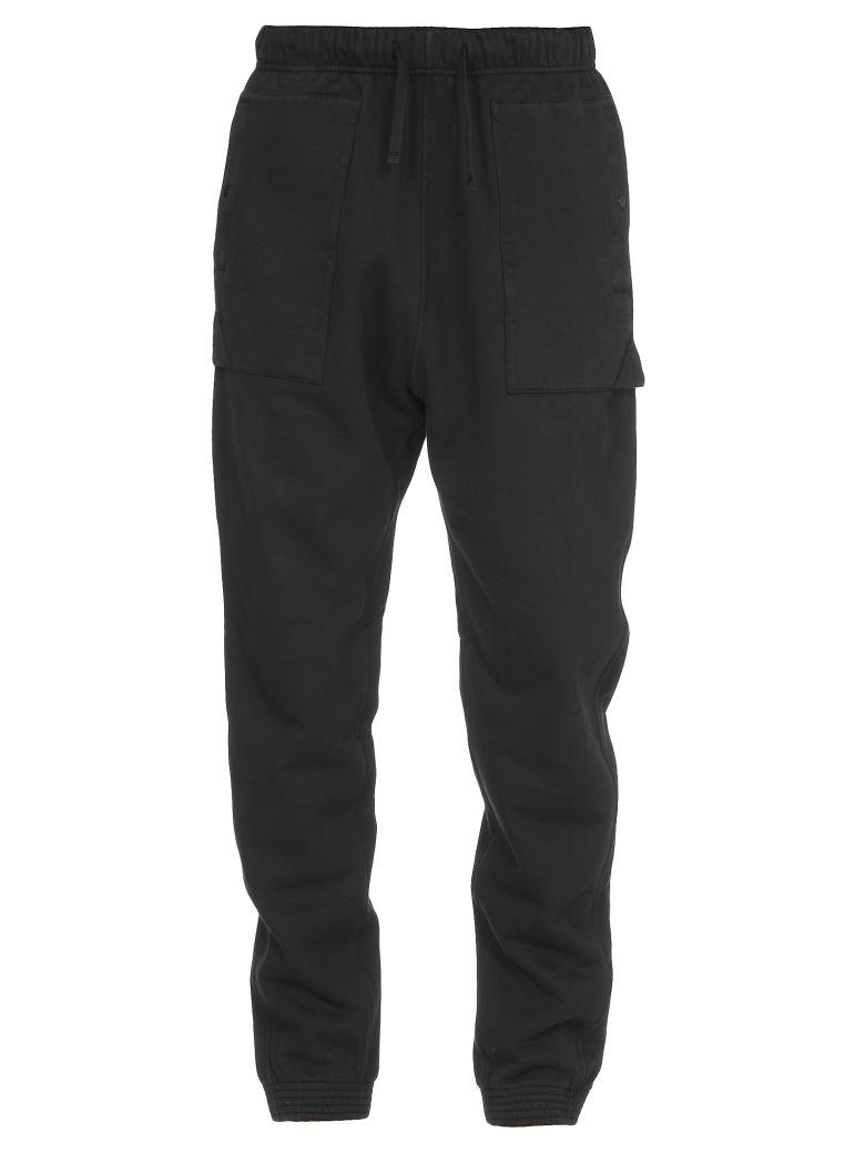Stone Island Cotton Trousers - Black