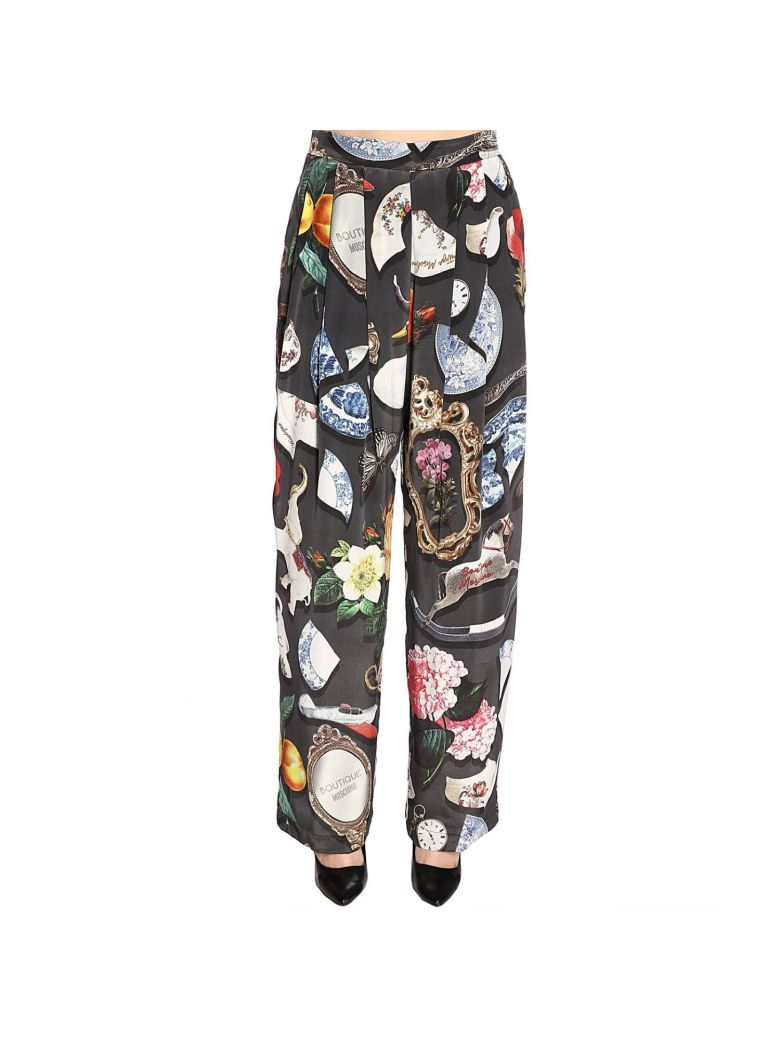 Boutique Moschino Pants Pants Women Boutique Moschino - charcoal