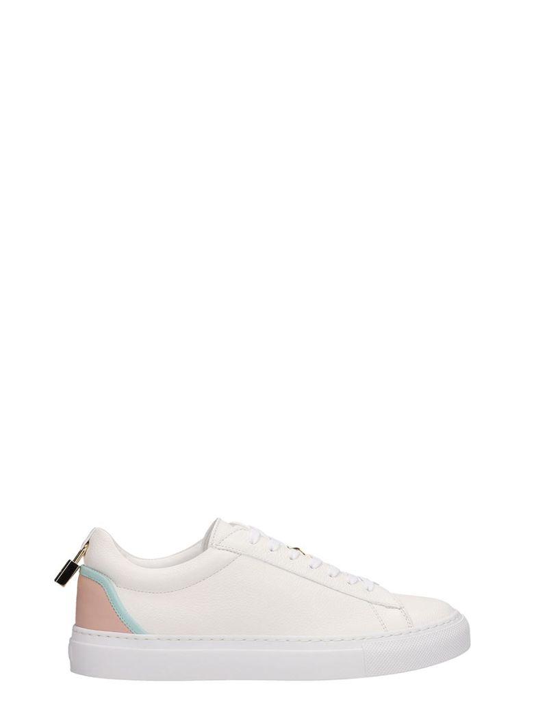 Buscemi Tennis Lock Sneakers - white