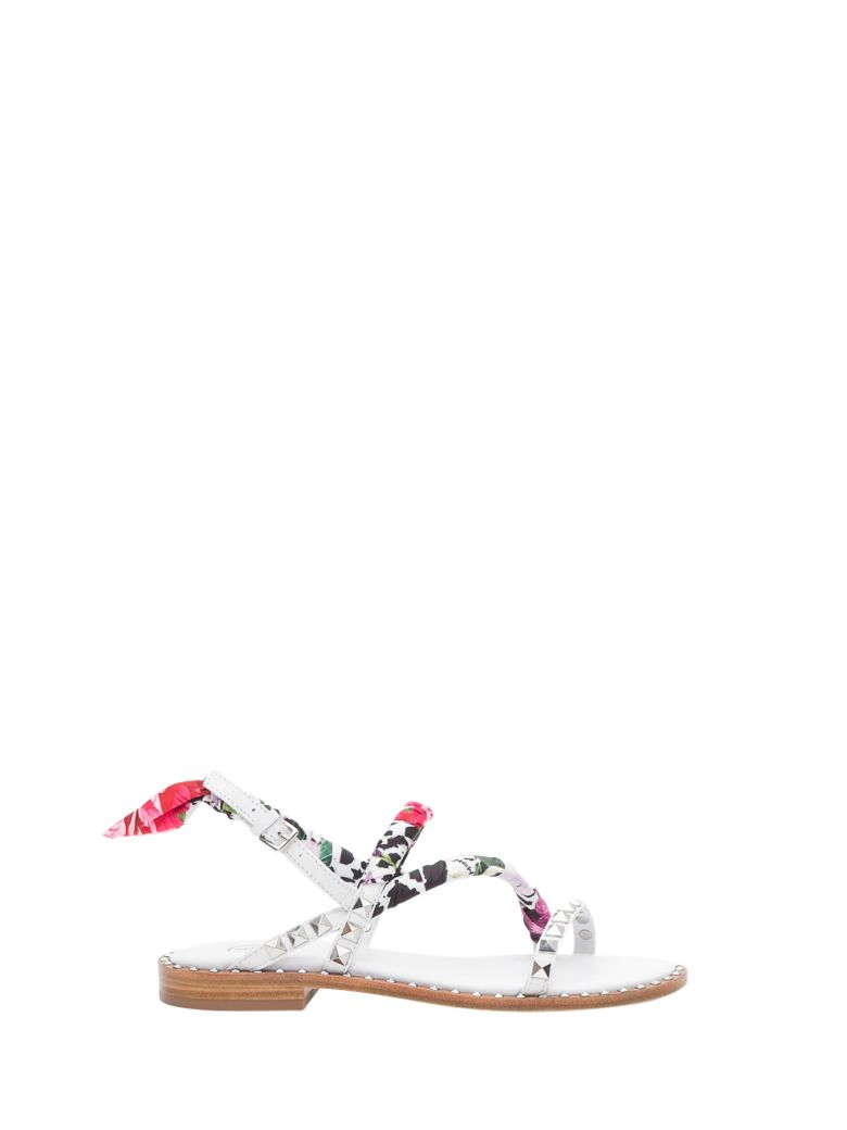 Ash Pattaya Sandals - Bianco